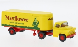 Modelcar - <strong>Chevrolet</strong> box wagon truck trailer, Mayflower<br /><br />Wiking, 1:87<br />No. 232001