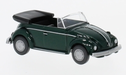 Modelcar - <strong>VW</strong> beetle Convertible, metallic-green<br /><br />Wiking, 1:87<br />No. 232003
