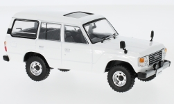 Modellino - <strong>Toyota</strong> Land cruiser LC60, bianco, RHD, 1982<br /><br />First 43 Models, 1:43<br />n. 232023