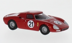 Modellauto - <strong>Ferrari</strong> 250 LM, No.21, 24h Le Mans, M.Gregory/J.Rindt, 1965<br /><br />BoS-Models, 1:87<br />Nr. 232098
