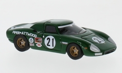 Modellauto - <strong>Ferrari</strong> 250 LM, No.21, 24h Le Mans, D.Piper/R.Attwood, 1968<br /><br />BoS-Models, 1:87<br />Nr. 232100