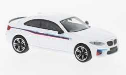 Modelcar - <strong>BMW</strong> M2, white, Presentation, 2016<br /><br />Minichamps, 1:87<br />No. 232112