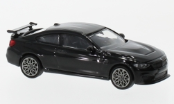 Modelcar - <strong>BMW</strong> M4 GTS, metallic-black, with grey wheel rim, 2016<br /><br />Minichamps, 1:87<br />No. 232114