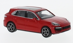 Modelcar - <strong>Porsche</strong> Cayenne Turbo, red, 2017<br /><br />Minichamps, 1:87<br />No. 232123