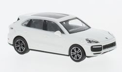 Modellauto - <strong>Porsche</strong> Cayenne Turbo, weiss, 2017<br /><br />Minichamps, 1:87<br />Nr. 232124