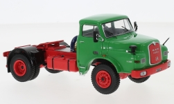Modelcar - <strong>MAN</strong> 19.280H, green, 1971<br /><br />IXO, 1:43<br />No. 232152
