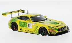 Modelcar - <strong>Mercedes</strong> AMG GT3, No.84, Mercedes-AMG team Mann-Filter, 24h Spa, R.van the Zande/E.Mortara/G.Paffett, 2018<br /><br />Spark, 1:43<br />No. 232183