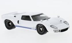 Modellauto - <strong>Ford</strong> GT40, weiss, RHD, 1966<br /><br />Solido, 1:43<br />Nr. 232238