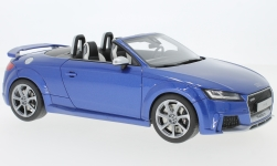 Modellauto - <strong>Audi</strong> TT RS Roadster, metallic-blau<br /><br />GT Spirit, 1:18<br />Nr. 232256