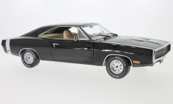 Modellauto - <strong>Dodge</strong> Charger, schwarz, Supernatural TV Series, 1970<br /><br />Greenlight, 1:18<br />Nr. 232374