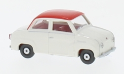 Modellauto - <strong>Glas</strong> Goggomobil, wit/rood<br /><br />Wiking, 1:87<br />Nr. 232552