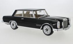 Modellauto - <strong>Mercedes</strong> 600 (W100) Nallinger-Coupe, schwarz, 1965<br /><br />CMF, 1:18<br />Nr. 232564