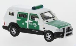 ModelCar - <strong>Toyota</strong> Land Cruiser Survivor, Polizei, 2004<br /><br />BoS-Models, 1:87<br />Nr. 232692