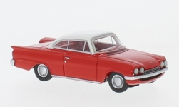 Modelcar - <strong>Ford</strong> Consul Capri GT, red/white, RHD, 1963<br /><br />BoS-Models, 1:87<br />No. 232694
