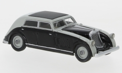 Modelcar - <strong>Maybach</strong> Zeppelin DS8 streamliner Spohn, grey/black, 1932<br /><br />BoS-Models, 1:87<br />No. 232695