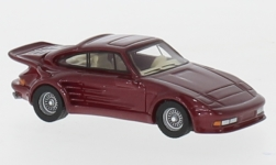 Modelcar - <strong>Porsche</strong> 911 Turbo Gemballa Avalanche, metallic-red, 1986<br /><br />BoS-Models, 1:87<br />No. 232697