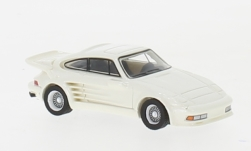 Modelcar - <strong>Porsche</strong> 911 Turbo Gemballa Avalanche, metallic-white, 1986<br /><br />BoS-Models, 1:87<br />No. 232698