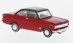 Modelcar - <strong>Opel</strong> Kadett A Coupe, red/black, from the Switzerland<br /><br />Brekina, 1:87<br />No. 232727