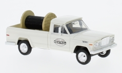 Modelcar - <strong>Jeep</strong> Gladiator, New York Central, with material loaded<br /><br />Brekina, 1:87<br />No. 232759