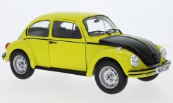 Modelcar - <strong>VW</strong> beetle 1303 S GSR, yellow/black, 1973<br /><br />Solido, 1:18<br />No. 232789