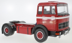 Modelcar - <strong>Mercedes</strong> LPS 1632, red/white, 1969<br /><br />Road Kings, 1:18<br />No. 232793