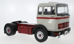 Modelcar - <strong>Mercedes</strong> LPS 1632, light grey/red, 1969<br /><br />Road Kings, 1:18<br />No. 232795