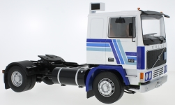 Modelcar - <strong>Volvo</strong> F1220, white/blue<br /><br />Road Kings, 1:18<br />No. 232798