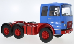 Modellauto - <strong>MAN</strong> F7 16.304, blau/rot, 1972<br /><br />Road Kings, 1:18<br />Nr. 232802