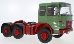 Modelcar - <strong>MAN</strong> F7 16.304, light green/red, 1972<br /><br />Road Kings, 1:18<br />No. 232803