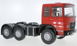 Modellauto - <strong>MAN</strong> F7 16.304, rot/schwarz, 1972<br /><br />Road Kings, 1:18<br />Nr. 232804