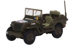 Modellauto - <strong>Willys</strong> MB, RAF 83 Grp., 2nd Tactical AF, 1944<br /><br />Oxford, 1:76<br />Nr. 232925