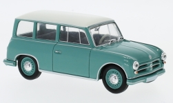 Modelcar - <strong>AWZ</strong> P70 station wagon, light turquois/white<br /><br />SpecialC.-108, 1:43<br />No. 232943