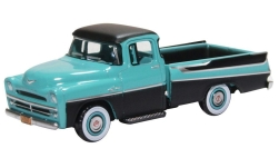ModelCar - <strong>Dodge</strong> D100 Sweptside Pick Up, türkis/schwarz, 1957<br /><br />Oxford, 1:87<br />No. 232957