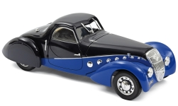 Modellauto - <strong>Peugeot</strong> 302 Darl Mat Coupe, dunkelblau/hellblau, 1937<br /><br />Norev, 1:18<br />Nr. 233055