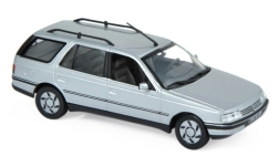 Modelcar - <strong>Peugeot</strong> 405 Break, metallic-grey, 1991<br /><br />Norev, 1:43<br />No. 233076