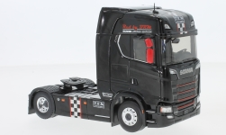 Modelcar - <strong>Scania</strong> S 730 BRM, black, B.R.M, towing vehicle<br /><br />Eligor, 1:43<br />No. 233112
