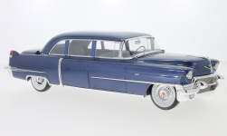 Modelcar - <strong>Cadillac</strong> Fleetwood series 75, metallic-dark blue, 1956<br /><br />GLM, 1:18<br />No. 233122