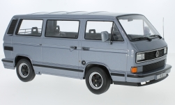 Modelcar - <strong>Porsche</strong> B32, metallic-grey, on Basis Volkswagen VW T3 bus, 1984<br /><br />KK-Scale, 1:18<br />No. 233135