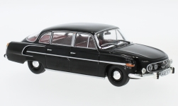 Modellauto - <strong>Tatra</strong> 603, schwarz, Rot Interieur, 1969<br /><br />Abrex, 1:43<br />Nr. 233139