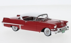 ModelCar - <strong>Cadillac</strong> Series 62 Hardtop Coupe, rot/weiss, 1957<br /><br />Neo, 1:43<br />No. 233177