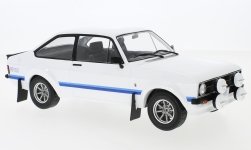 Modelcar - <strong>Ford</strong> Escort MK II RS 1800, white, RHD, 1977<br /><br />IXO, 1:18<br />No. 233240