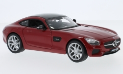 Modelcar - <strong>Mercedes</strong> AMG GT, dark red/black, 2015<br /><br />Maisto, 1:24<br />No. 233317