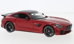 Modelcar - <strong>Mercedes</strong> AMG GT R, red<br /><br />Welly, 1:24<br />No. 233346