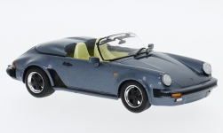 Modellauto - <strong>Porsche</strong> 911 Speedster, metallic-donkerblauw, Porsche 911 Collection, 1989<br /><br />SpecialC.-111, 1:43<br />Nr. 233354