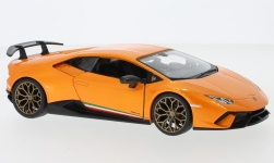 ModelCar - <strong>Lamborghini</strong> Huracan Performante, orange<br /><br />Bburago, 1:24<br />Nr. 233366