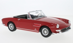 Modelcar - <strong>Ferrari</strong> 275 GTS Pininfarina Spyder, red, with removable Softtop, 1964<br /><br />KK-Scale, 1:18<br />No. 233377