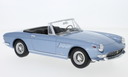 Modelcar - <strong>Ferrari</strong> 275 GTS Pininfarina Spyder, metallic-light blue, with removable Softtop, 1964<br /><br />KK-Scale, 1:18<br />No. 233379