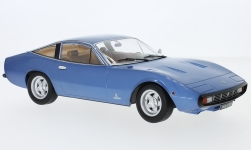 Modelcar - <strong>Ferrari</strong> 365 GTC/4, metallic-blue, 1971<br /><br />KK Scale, 1:18<br />No. 233381