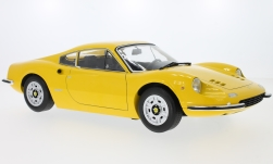 Modelcar - <strong>Ferrari</strong> Dino 246GT, yellow, 1973<br /><br />KK-Scale, 1:12<br />No. 233383