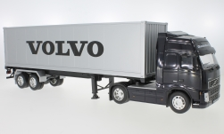Modelcar - <strong>Volvo</strong> FH12, Volvo, with box wagon-trailer<br /><br />Welly, 1:32<br />No. 233402